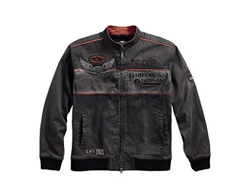 Herren-jacken Davidson Harley (Harley-Davidson Harley-DavidsonMen's Iron Block Casual Jacke, 98577-17VM, XXL)
