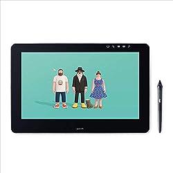 Wacom Cintiq Pro 16 - Ecran interactif - Tablette graphique à stylet (16 pouces, avec écran et pieds) Stylet Wacom Pro Pen 2 et adaptateur Link Plus inclus - Compatible avec Windows et Apple