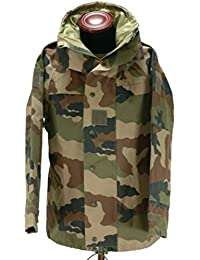 French Army Genuine Goretex MVP Waterproof CCE Pattern Camouflage Combat Jacket, New