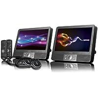 Lenco DVP-938 X 2 Lettore DVD Portatile, Lettore Chip SD, Porta USB, Nero - Trova i prezzi più bassi su tvhomecinemaprezzi.eu