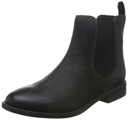 Clarks Women's Maypearl Nala Chelsea Boots, Black, 4 4 UK