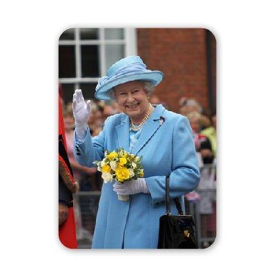 Regina Elisabetta II-Tappetino mouse art247mouse in gomma naturale di alta qualità-Tappetini Tappetino per