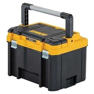 41lEkEC78FL. SS300  - Dewalt DWST1-75774 Caja de herramientas profunda con asa larga TSTAK