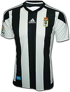 adidas Real Oviedo Camiseta de Equipación, Hombre, Rojo (Buruni), ...