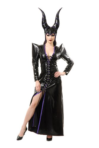 Charades Witchy Woman-Dress& Headpiece Large