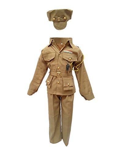 KFD Kids Police Man Costume & Fancy Dress