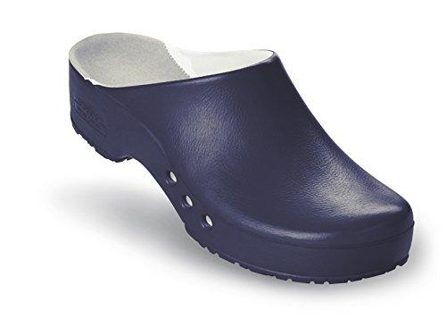 Schürr Chiroclogs Professional OP-Schuh Unisex mit und ohne Fersenriemen Blau
