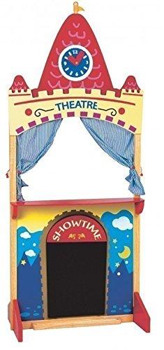 Farbenfrohes-Kasperletheater-aus-Holz-mit-verstellbarer-Spieluhr-und-Maltafel-ab-3-Jahre