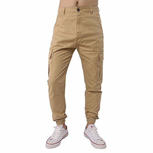 Kostüm Shirt Riss - DNOQN Sporthose Herren Stoffhose Riss Slim Fit Motorrad Vintage Denim Jeans Hiphop Streetwear Hosen