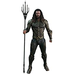 Hot Toys Figura Aquaman 30 cm. La Liga de la Justicia. Movie Masterpiece. Escala 1:6. DC Cómics