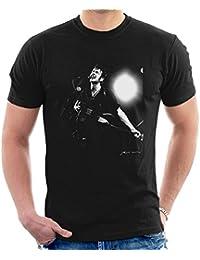 Phil Nicholls Official Photography - Joe Strummer Ignore Alien Orders Guitar Sticker Men's T-Shirt