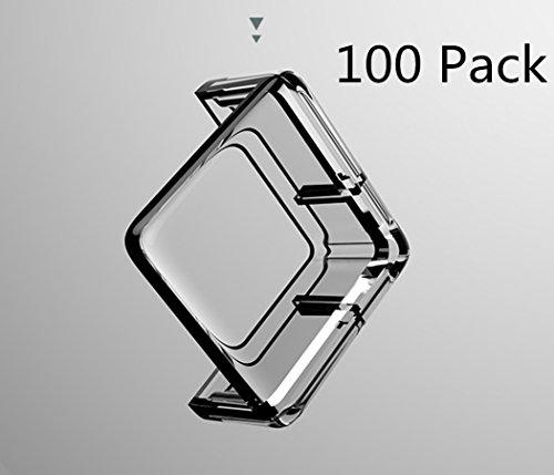 SJHO Baby Transparent Crash Corner - Rechteck Transparent Ecke und Kantenschutz -100 Pack + Tape