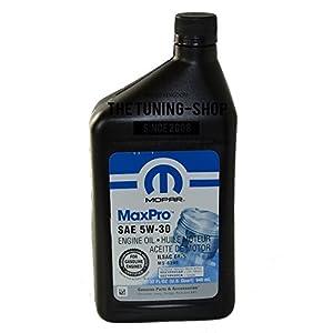 Original origine Mopar Huile moteur SAE 5W-30maxpro 0.946l pour Chrysler Dodge Jeep Fiat pas cher