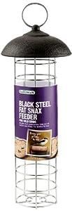 Gardman Steel Fat Snax Feeder - Black from Gardman