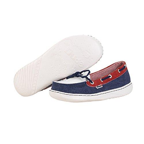 Dude Shoes , Mocassins pour femme Bleu Marine