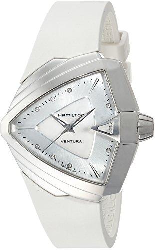 NUEVO. Hamilton Mujer Reloj h24251399analógico de cuarzo cristal de zafiro antirreflejos,