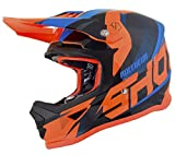 Shot Crosshelm Furious Ultimate Kid, Blau/Orange