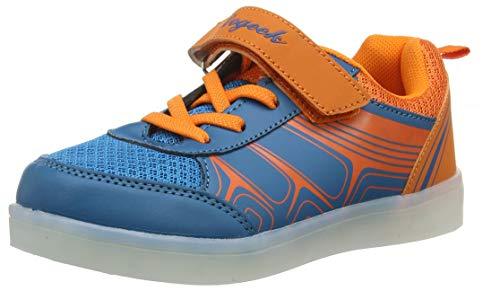 DoGeek LED Schuhe Kinder Damen 7 Farbe USB Aufladen Leuchtend Sportschuhe Led Kinder Farbwechsel Sneaker Turnschuhe für Herren Damen (Ersatz-heiße Rollen)