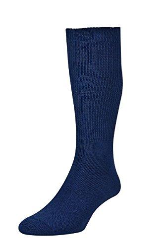 HJ Hall HJ1351 Diabetiker Socken | 94% Baumwolle | Fuß voll gepolstert | glatte Naht (Diabetiker Gepolsterte Socken)