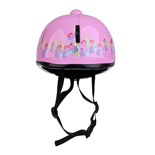 Sharplace Kinder Helm Reithelm - Rosa