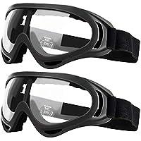 2 gafas de seguridad para niños con protección antiniebla y protección UV, perfectas para pistola de espuma