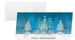 SIGEL DS030 Weihnachtskarten Set mit Umschlag, DIN lang, 10 Stück - weitere Designs