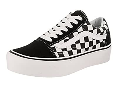 a17213223f Image Unavailable. Image not available for. Colour  Vans Old Skool Platform Shoes  Checkerboard