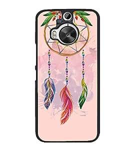 YuBingo HTC One M9 Plus :: HTC One M9+ :: HTC One M9+ Supreme Camera 2D Designer Phone Back Case Cover ( Beautiful Feather Wall Art )