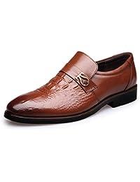 2016 nuevos zapatos del negocio señaló los zapatos de los juegos los zapatos de los hombres de los pantalones de los hombres calzan los zapatos de cuero de los zapatos de los hombres , yellow , 39