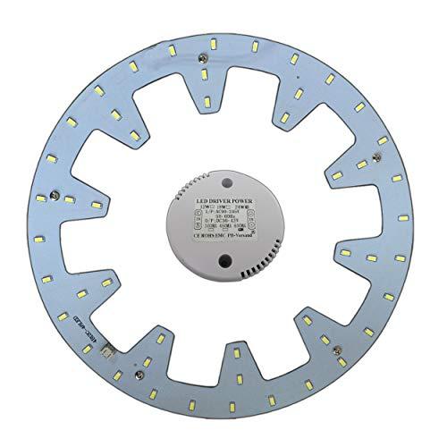 LED Modul 24 Watt tageslichtweiß - Umbau Set für Deckenleuchte Ringlampe Deckenleuchte Rundlampe Röhrenlampe G10q - Leuchtstoff-einbau