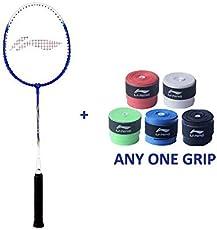Li Ning Smash XP 707 Badminton Racket with Overgrip