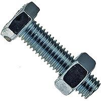 verzinkt M 6 x 80-100 St/ück Linsensenkschraube mit Schlitz DIN 964 4.8 Stahl galv