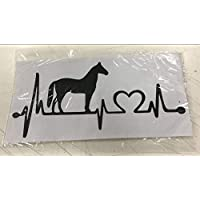 YSHUO Wall Stickers Ecg Cat Horse Can Be Removed Car Stickers Switch Posts Can Be Customized