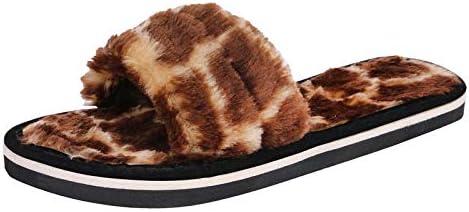Bhains Ki Ankh Womens House Home Clogs Shoes Casual Real Fox Fur Shoes
