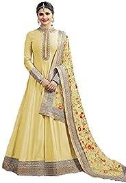 RANGE OF INDIA Women's Anarkali Salwar Kameez Designer Indian Dress Ethnic Party Embroidered