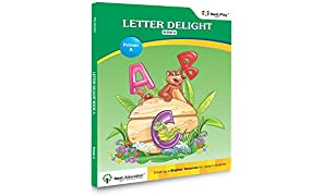 Letter & Alphabet Book For LKG Students NextPlay- Letter Delight - Book A - Next Books