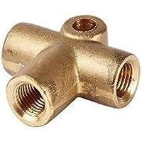 ASC Rohrverbinder, 3Wege, 10mm, T-Stück, für die Bremskupplung, 4,8 mm, M10