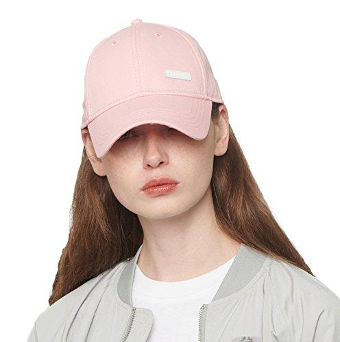 CACUSS Damen Baumwolle-Vati-Hut Baseball-Golf-Kappe Mit Einstellbarem Schnallenverschluss einheitsgröße rosa
