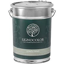 Lignocolor Leinöl-Firnis 2,5L Holzöl für den Innen- und Außenbereich
