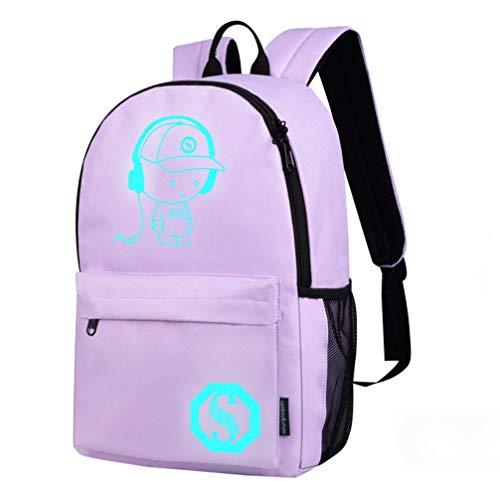 Zaino scuola classico rucksack zaini vintage unisex computer portatile borsa viaggio zainetti bambini