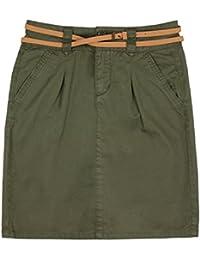 Vero Moda New Boline Skirt Damen Rock mit Gürtel