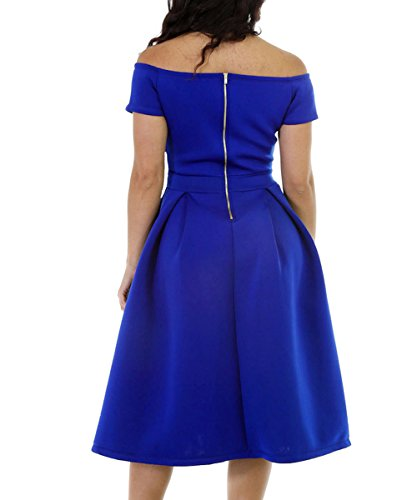 Dissa S1161228 femme Sexy Robe de soirée Bleu