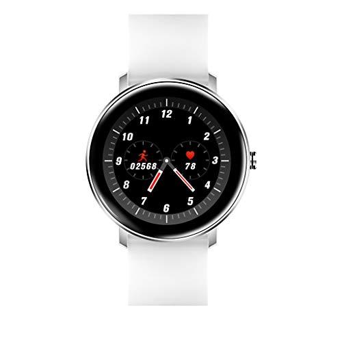 InueINND Bluetooth Smartwatch, Fitness Armbanduhr mit 1.22 Zoll Farbbildschirm Fitness Tracker Herzfrequenzmessung Schrittzähler Wasserdicht IP67 G-Sensor Fitness Uhr Sportuhr für Android iOS (Watch Clip Auf Gurt)
