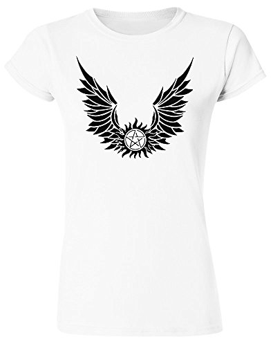 Pentagram With Wings Women's T-Shirt XX-Large