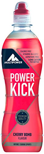 Multipower Power Kick Energy Getränk, Cherry Bomb (12 x 500 ml)