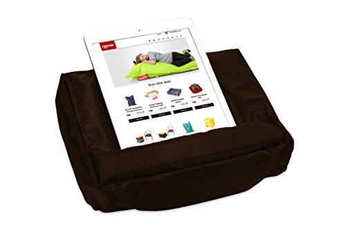 Roomox iPad-Kissen Tosh für Smartphone, eReader, Tablet-Besitzer Stoff 28 x 6,5 x 21 cm, schwarz