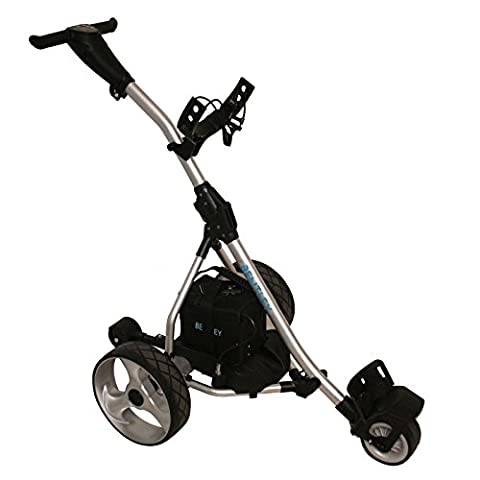Charles Bentley Remote Control Electric Golf Trolley With Charger Caddy Cart 200W 36 Hole