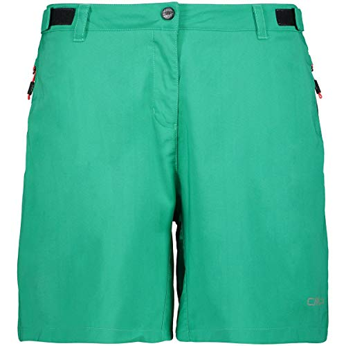 CMP Damen Freebike Shorts Hosen, Mint, 40 (Fahrräder Shorts)