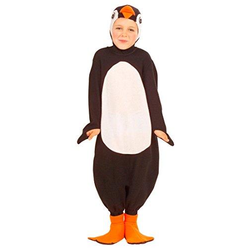 Kostüm Kinder Antarktis - NET TOYS Kleiner Pinguin Kostüm Vogel Kinderkostüm 116 cm Kinder Pinguinkostüm Zootiere Overall Winter Tierkostüm Antarktis Faschingskostüm