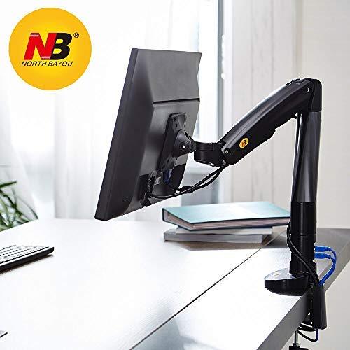 NB North Bayou Monitor Tischhalterung Ständer Voll verstellbar Computer Monitor Arm für